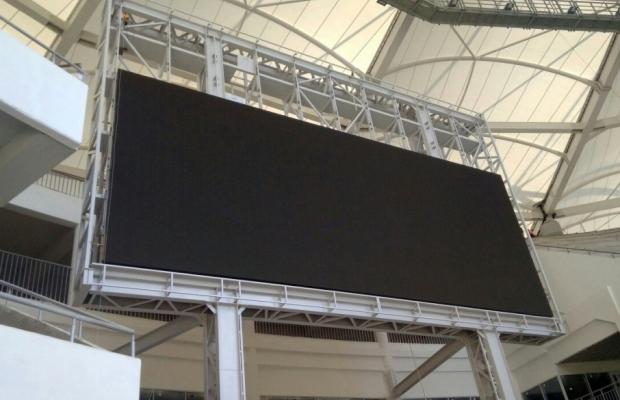 Настадионе «Ростов Арена» стартовали работы помонтажу информационного табло